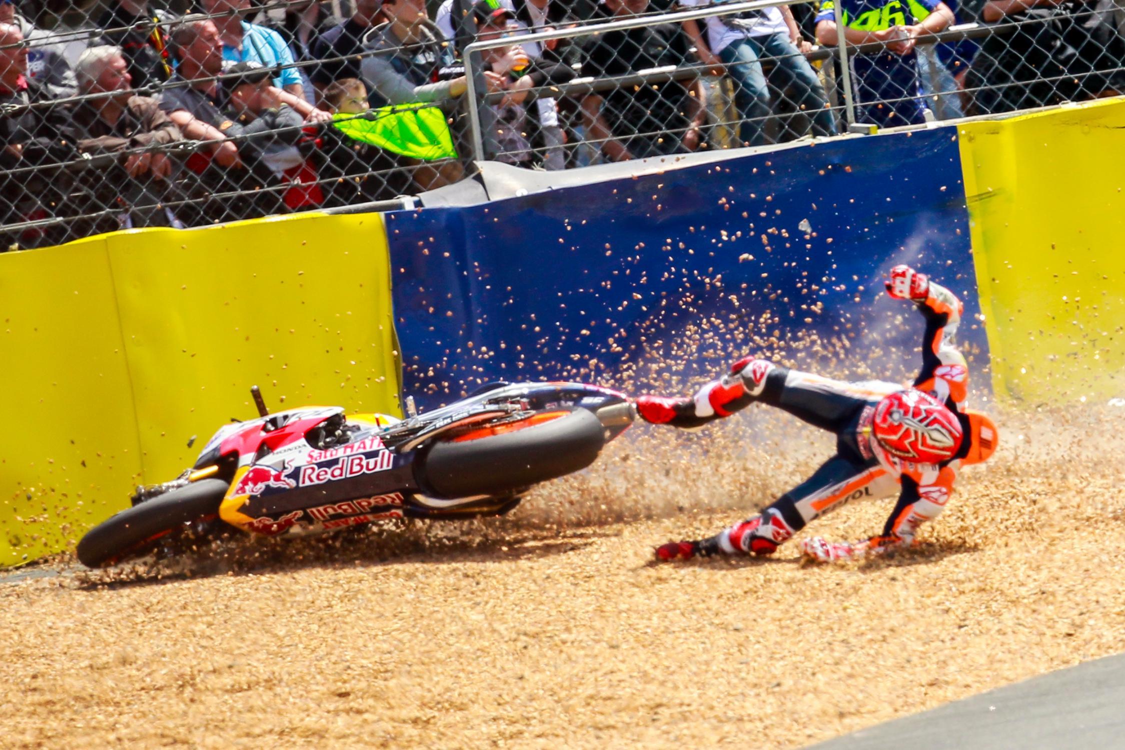 Marc Marquez MotoGP Le Mans 2017