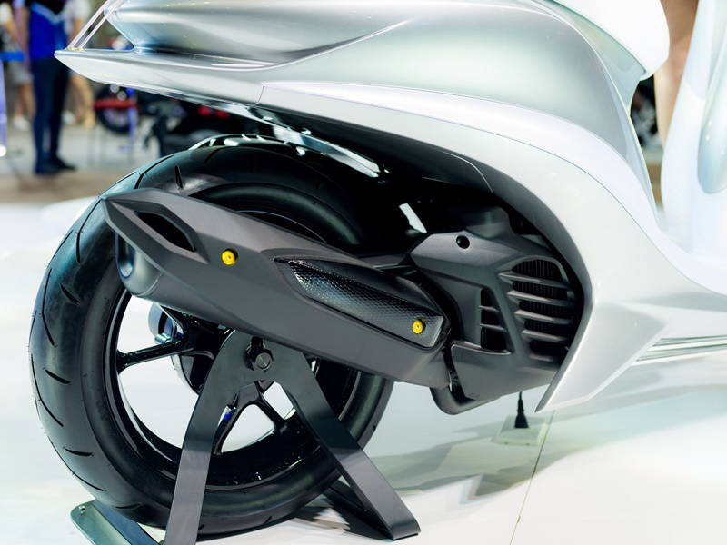 Yamaha Glorious 155 Concept exhaust