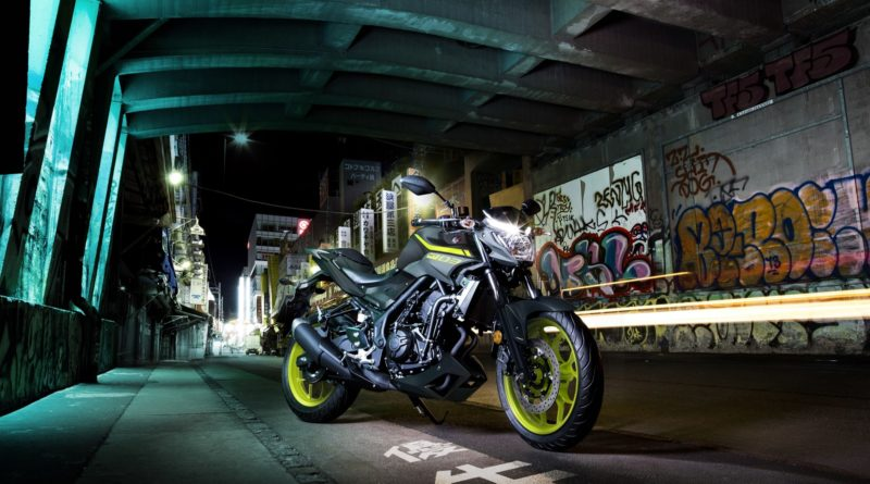 Yamaha MT-03 Night Fluo