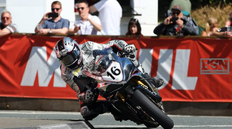 Josh Brookes Isle Of Man TT 2017 Norton V4RR