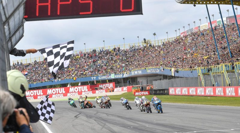 Moto3 Assen Race Finish