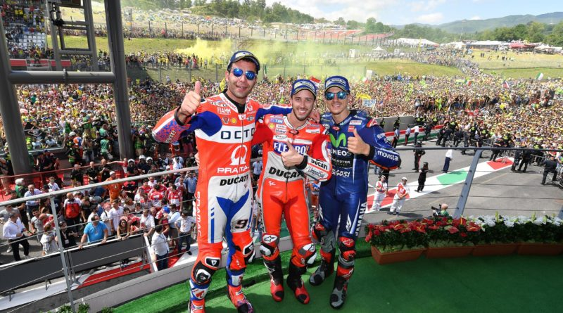 MotoGP Mugello 2017 Podium