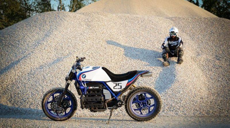 'Straßenbauer' K100 Custom – Μια BMW που πάει παντού