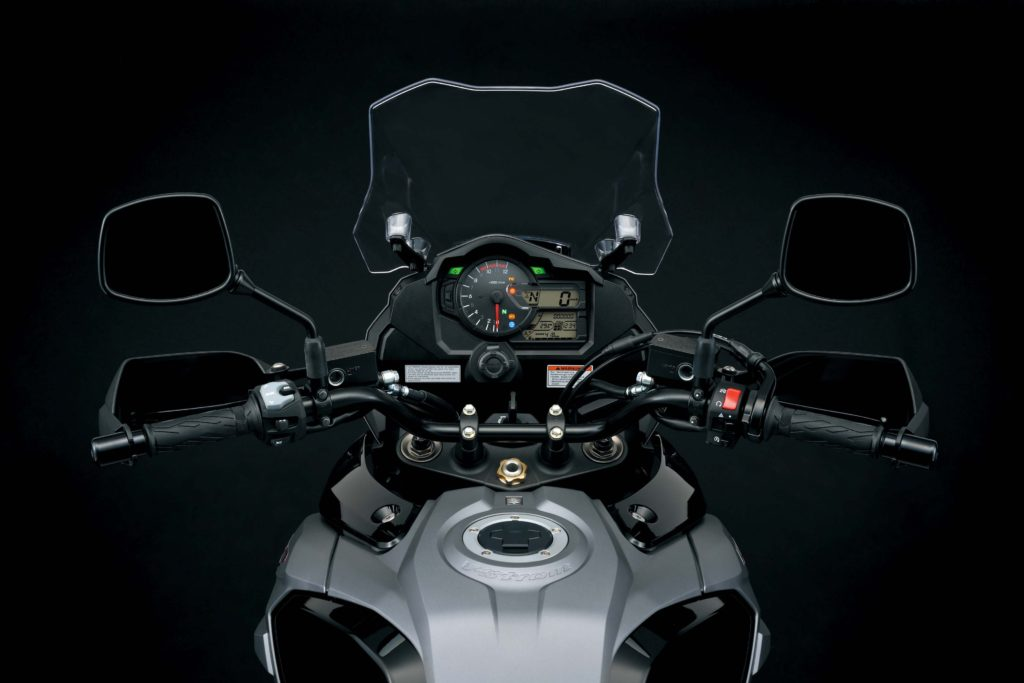 Suzuki V-Strom 1000 2018 new display