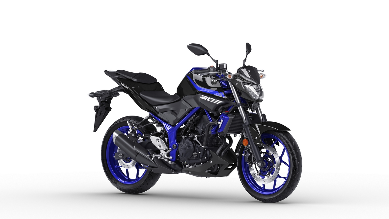 Yamaha MT-03 2018 Black and Blue