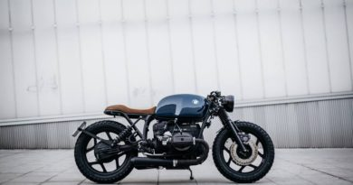 BMW R80 custom bike