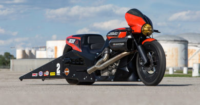 Harley Davidson Screamin' Eagle Vance And Hines Street Rod 2017