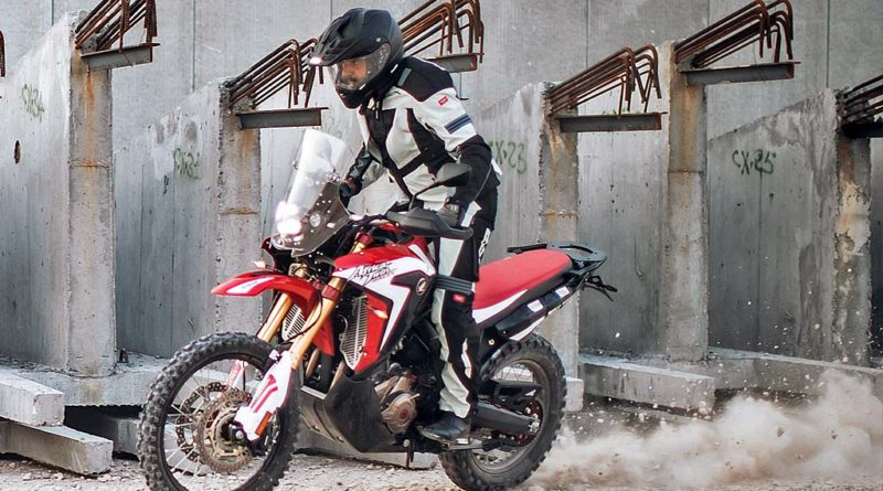 Honda CRF1000 Rally Africa Twin Spidi video