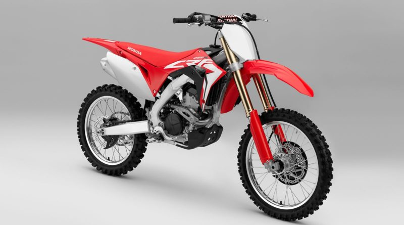 Honda CRF250R 2018 motocross Absolute Holeshot