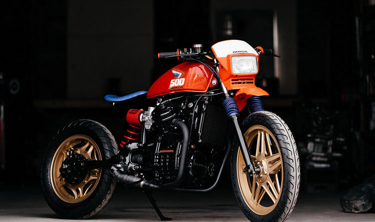 Honda CX 500 Tracker Brick House Builds