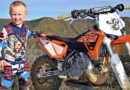 Video Jaydin Smart 4 years old motocross