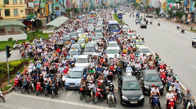 απαγόρευση μοτοσυκλετών στο Hanoi του Βιετνάμ από το 2030