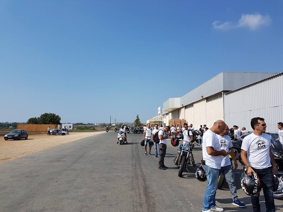Μοτοσυκλετιστική πορεία εις μνήμην Τάσου Ισαάκ και Σολωμού Σολωμού 2017