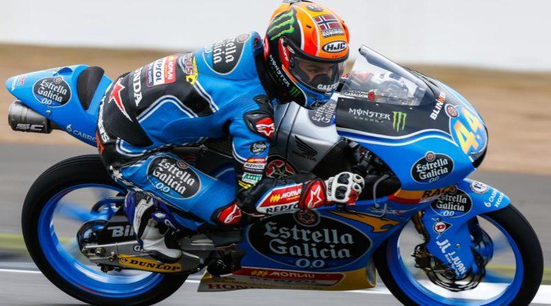 Moto3 Silverstone Aron Canet