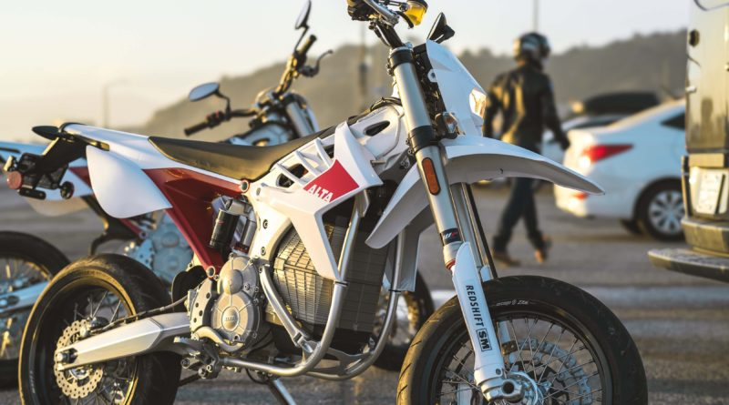 Alta Motor electric bike supermoto