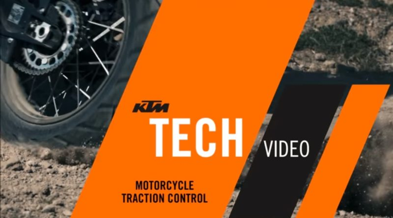 KTM Tech Video Motion Traction Control