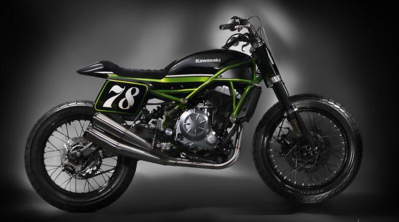 Kawasaki Z650 MRS flat-track