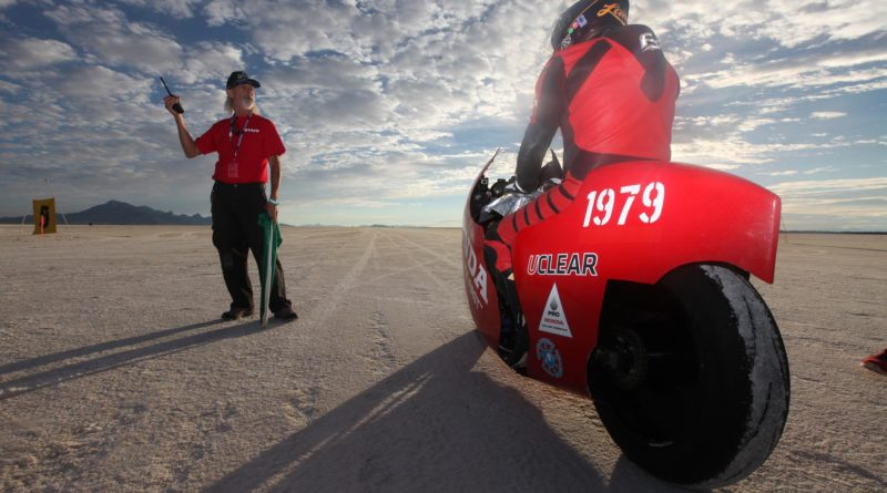 Al Lamb Honda Chasing 300 Speed Record