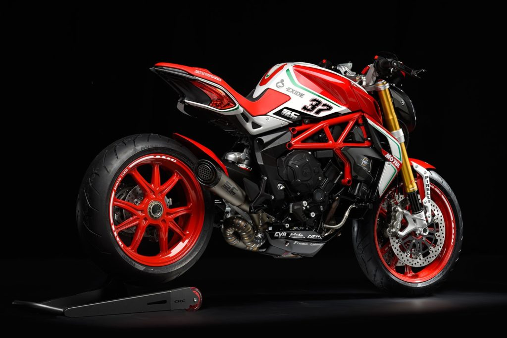 MV Agusta Dragster RC 2018 Right