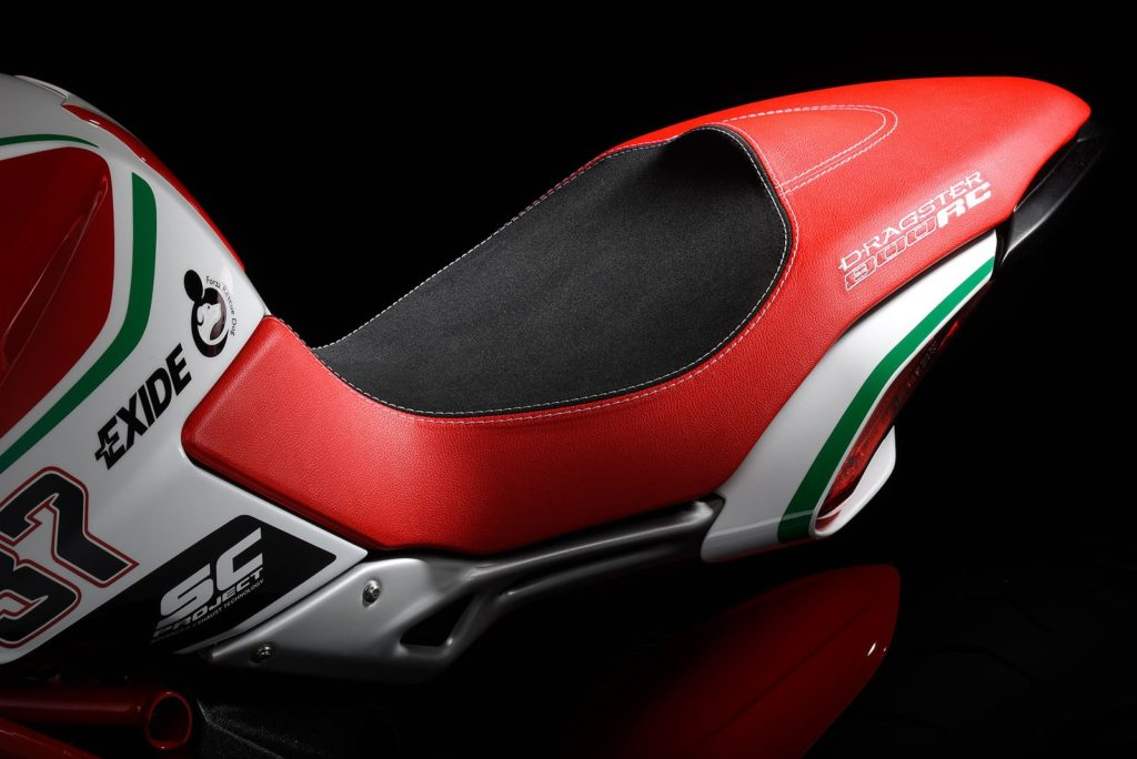 MV Agusta Dragster RC 2018 Seat