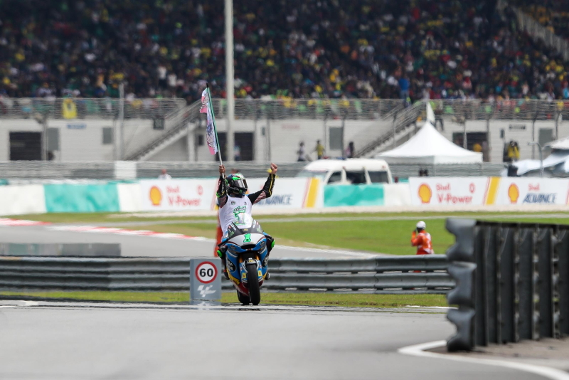 Moto2 Sepang Franco Morbidelli Champion