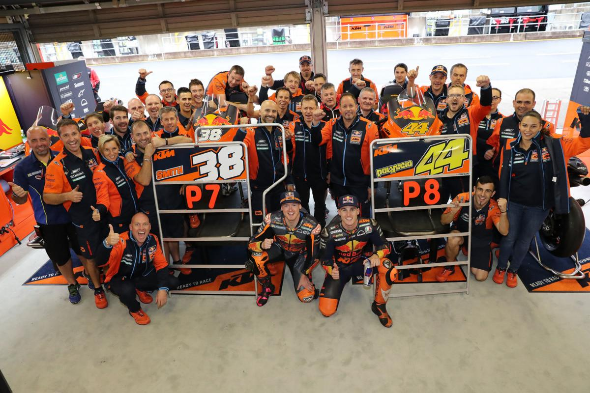 MotoGP Motegi 2018 Red Bull KTM