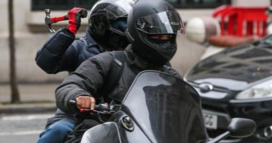 Ban in pillion passengers to stop crime