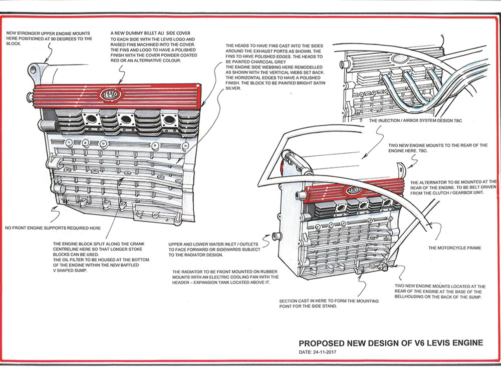 Levis V6 Engine