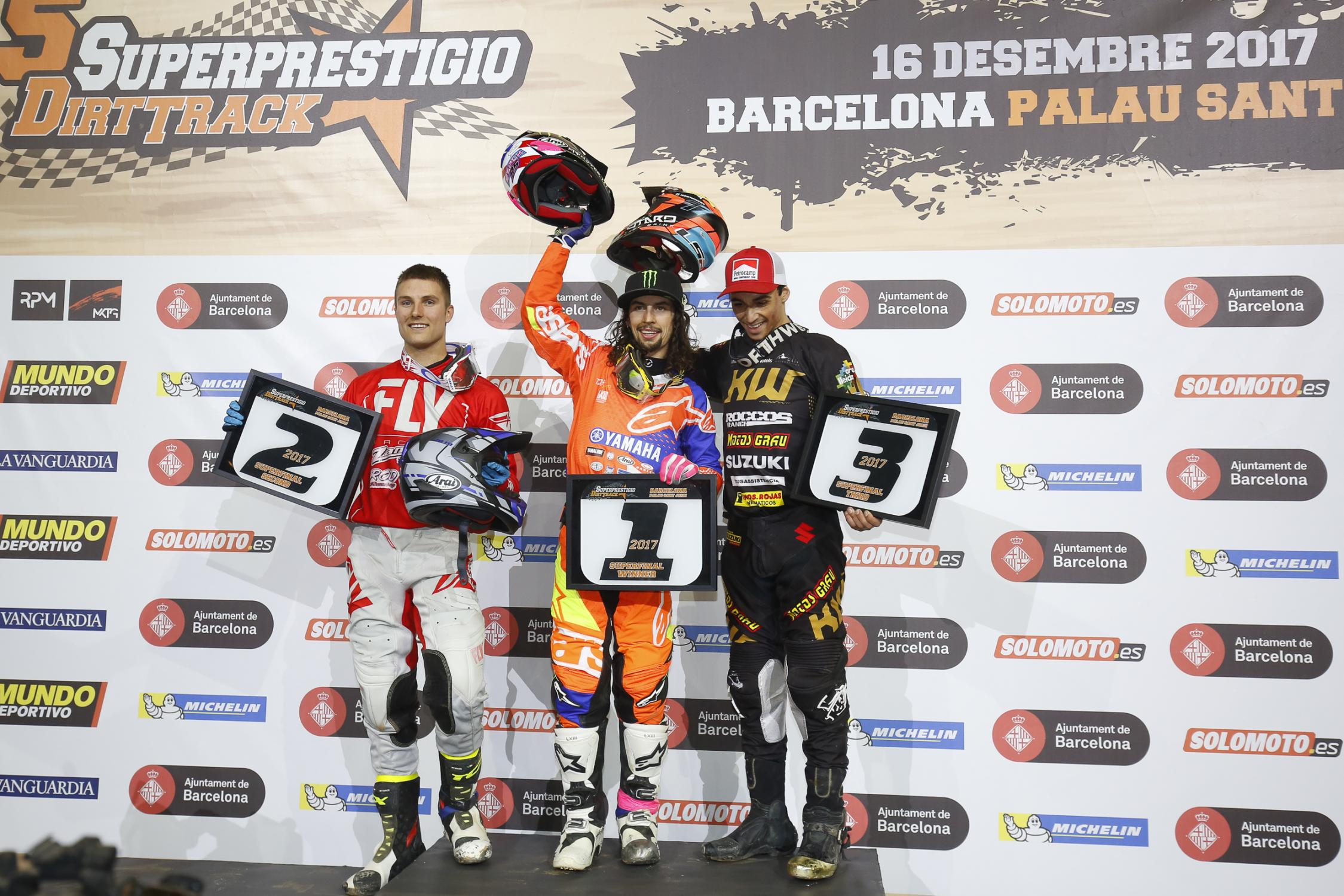 Superprestigio 2017 Podium
