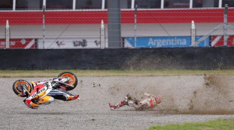Schwantz talks Marquez crashes